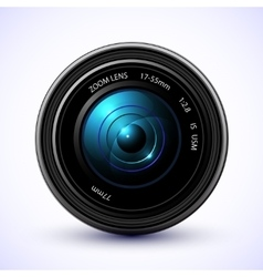 Photography background camera photo lens with vector