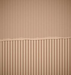 torn cardboard Stock vector image vector image