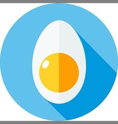 Egg flat vector