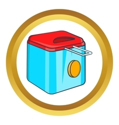 Fryer icon vector