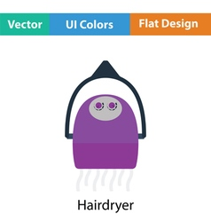 Hairdryer icon vector