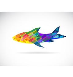 Fish abstract vector