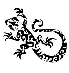 Hiqh quality origanl lizard or salamander drawn vector