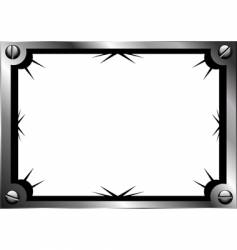 Steel frame vector