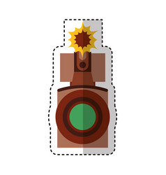 video handycam isolated icon vector image vector image