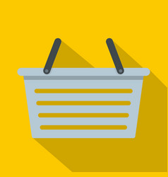 Flasket for dirty washing icon flat style vector