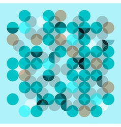 Transparent circles vector