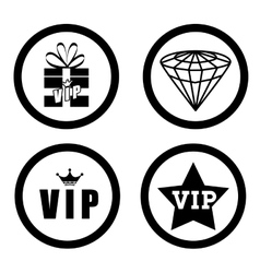 Vip design exclusive and premium concept vector