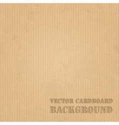Cardboard grunge paper texture background vector