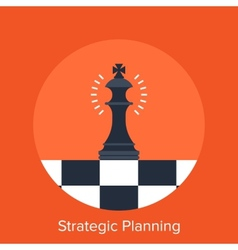 Strategic planning vector