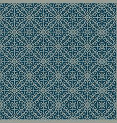 blue decorative pattern backdrop vector image
