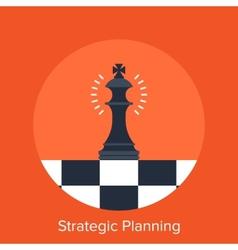 Strategic planning vector