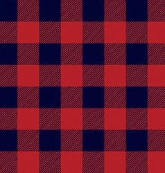 Lumberjack plaid seamless pattern vector