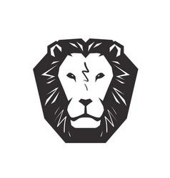 Lion logo animal wildlife symbol or icon vector