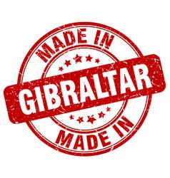 Made in gibraltar vector