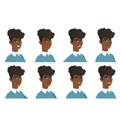 Set of cleaner characters vector