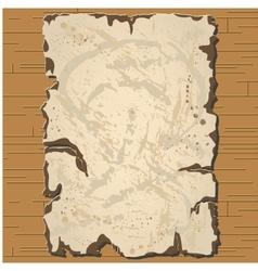old parchament Brown background vector image