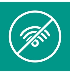 No wifi vector