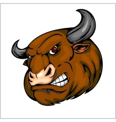 Bull head mascot - for sport vector