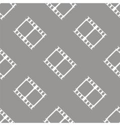 Film seamless pattern vector
