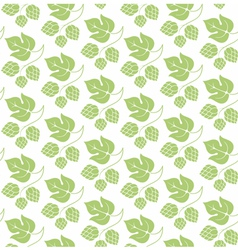 Floral pattern Hop vector image vector image