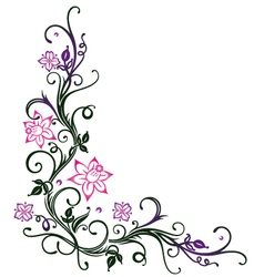 Flowers spring vector image vector image