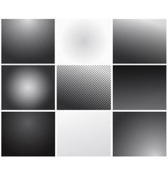 Set of transparency grid backgrounds vector