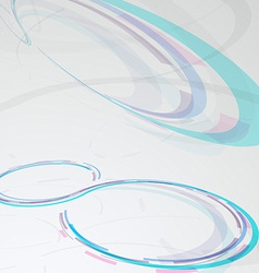 Web circular banner - transparent background vector