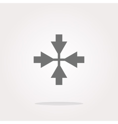 Mouse cursor sign icon pointer symbol modern ui vector