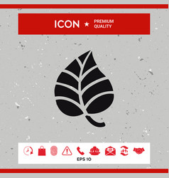 creative logo - leaf element for your vector image