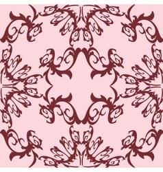 Decoration vintage element floral style seamless vector