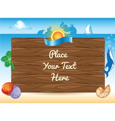sea travel background vector image
