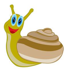 Cartoon animal snail vector