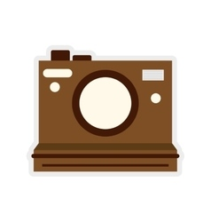 camera icon Retro gadget design graphic vector image vector image