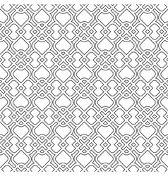 Islamic delicate pattern Seamless vector image