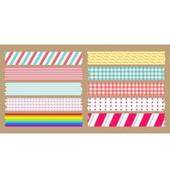 masking tape variety set vector image