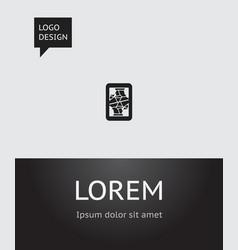 of business symbol on jack vector image
