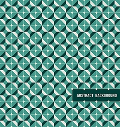 Pattern modern geometric tiles vector