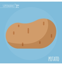 Potato icon vector image