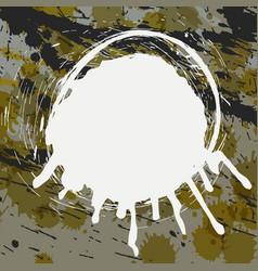 abstract splatter background vector image