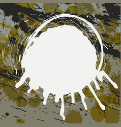 abstract splatter background vector image