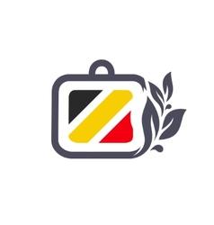 Business diplomat Belgium sign vector image vector image