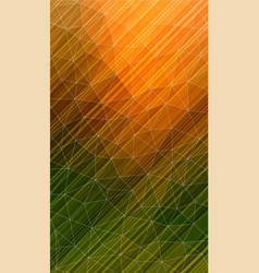 Vertical polygonal background with oblique lines vector