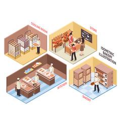 Bakery design concept vector