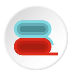 Fabric icon circle vector