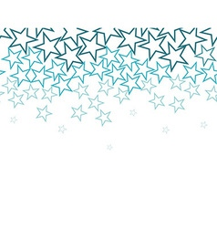 stars background over white vector image vector image