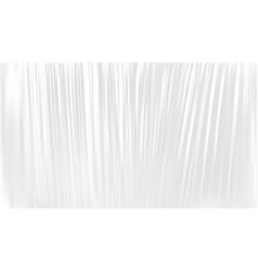 transparent polyethylene plastic warp vector image