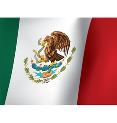 Mexican flag vector