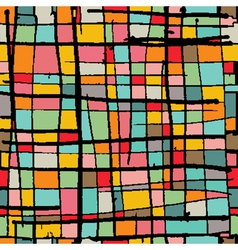 Bright Mosaic Background vector image vector image