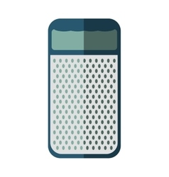 Cheese grater icon menu and ktichen design vector
